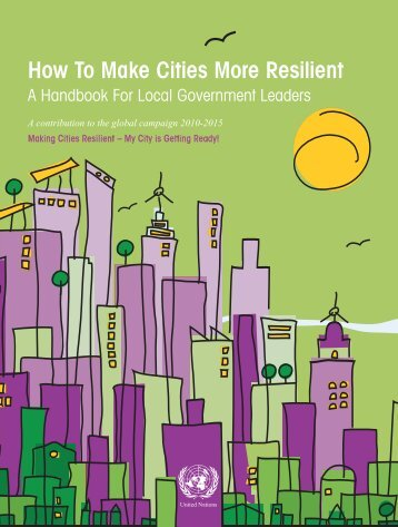 Making Cities Resilient - Economics of Disaster Risk Reduction