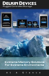 Download: Delkin OEM Mini Catalog - Rugged Controlled Storage