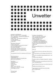 Unwetter (Berlin, Germany) - Sparwasser HQ