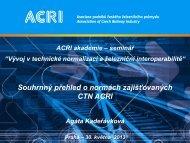Kadeřávková - přehled - ACRI