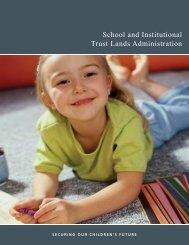 School and Institutional Trust Lands Administration - Utah Trust ...