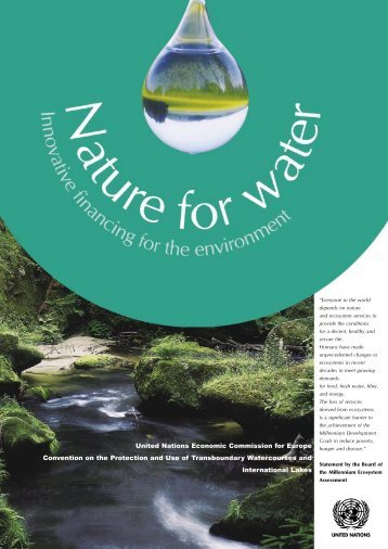 Nature for water - UNECE