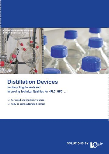 Distillation Devices - ARC Sciences