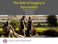 The Role of Surgery in Pancreatitis-Syllabus, Naphtali R. Gomez, MD