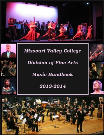 2013-2014 Music Handbook - Missouri Valley College