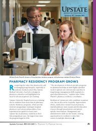 Physicians Practice - SUNY Upstate Medical University