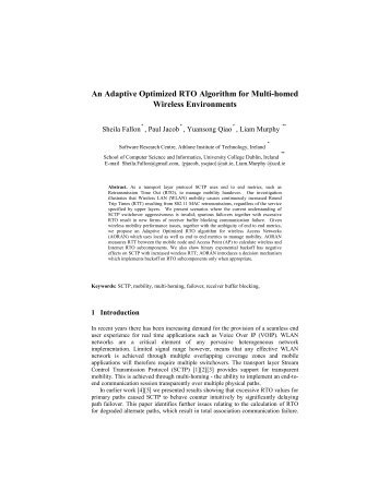 An Adaptive Optimized RTO Algorithm for Multi-homed Wireless ...