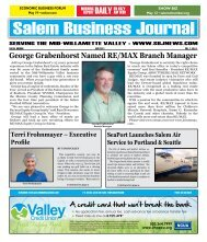 May 2011 - Salem Business Journal