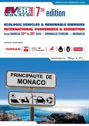 from MARCH 22nd to 25th 2012 • GRIMALDI FORUM ... - Imedd-group