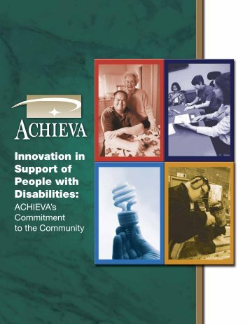 Innovation in Support of People with Disabilities: - Achieva