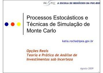 Slides do Curso - IAG - A Escola de Negócios da PUC-Rio