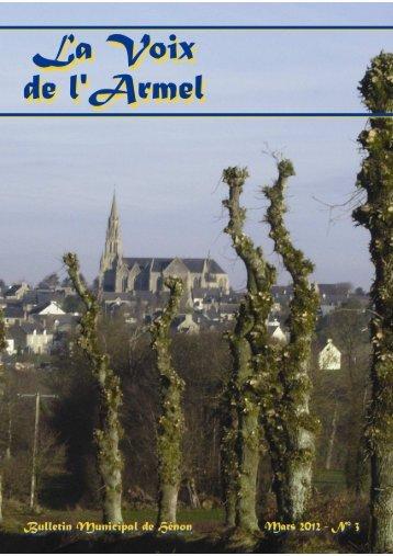 La Voix de l Armel mars 2012.pdf - Mairie de Henon