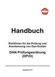 DAN Prüfungsordnung (DPrO) - Judo Landesverband Oberösterreich