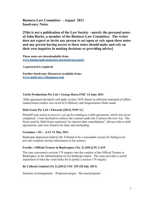 Law pdf business notes