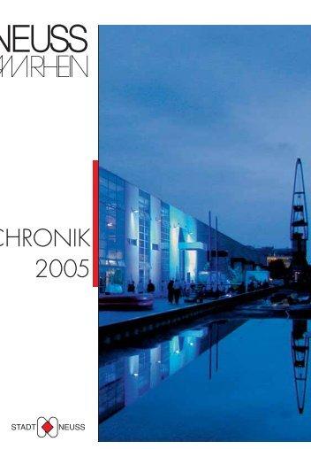 CHRONIK CHRONIK 2005 - Neuss am Rhein