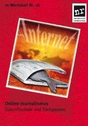 Online-Journalismus - Netzwerk Recherche
