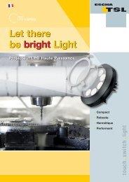 Spot LED hautte puissance [.PDF-Datei] - Logo ESCHA TSL GmbH