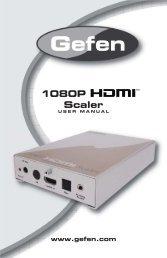 1080p HDMI Scaler - Gefen