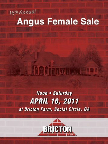 Noon • Saturday April 16, 2011 - Angus Journal