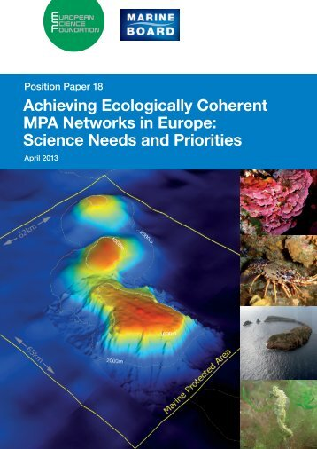 Achieving Ecologically Coherent MPA Networks in Europe: Science ...