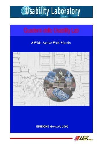 AWM: Active Web Matrix - Welcome