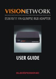 What is the VN-GLIMPSE RGB ADAPTER? - Extron Electronics