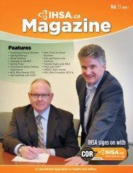 IHSA.ca Magazine Vol. 13 Issue 1 - Infrastructure Health & Safety ...