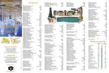 Le plan de cannes easy dive - Office de tourisme de lons le saunier ...