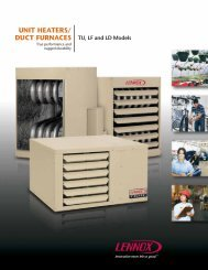 Lennox LD24-250A Brochure - FREE SHIPPING - Heating and Air ...