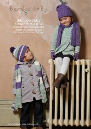 AW12 Catalogue - Wholesale Organic Baby Clothes