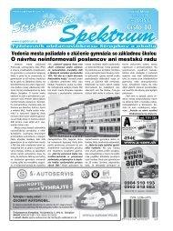 Stropkovské - Mesto Stropkov