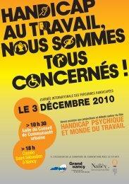 LE 3 DÉCEMBRE 2010 - Ville de Nancy