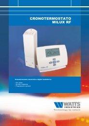 CRONOTERMOSTATO MILUX RF - Watts Industries
