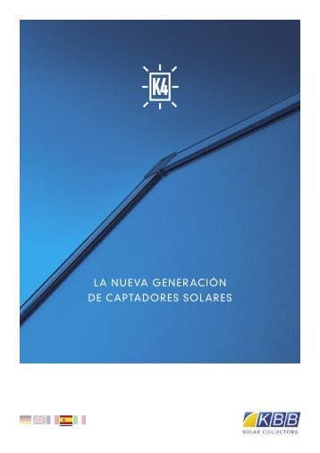 la nueva generación de captadores solares - k4-collectors.com