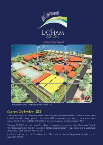 The Latham School - Zoom Tanzania