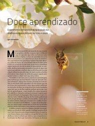 Doce aprendizado - Revista Pesquisa FAPESP