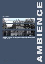 ambience klangkunst in brandenburger herrenhäusern 2008 − 2018