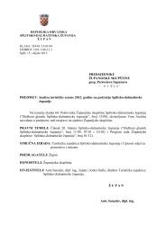 Analiza turističke sezone 2012. godine - Splitsko-dalmatinska županija