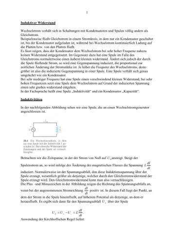 Aufgaben zum elektrischen Widerstand 64. 1. An einem Widerstand ...