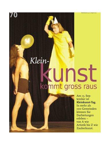 Klein- - Migros Kulturprozent