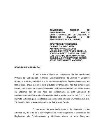 Acuerdo 108. - H. Congreso del Estado de Sonora