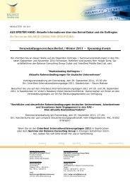 Balance Newsletter 09-2011 - Vae-psf.de