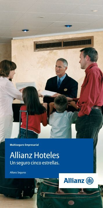 Folleto Allianz Hotel