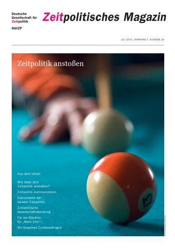 Download ZpM Nr. 16 - Deutsche Gesellschaft für Zeitpolitik