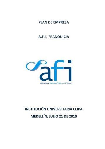 A.F.I. FRANQUICIA - Institución Universitaria Ceipa