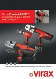 Con le Pressatrici ViPer® La pressatura que è sempre sotto controllo !
