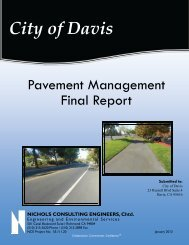 January 2013 Pavement Management Report - the Public Works ...