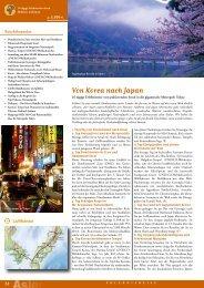 Von Korea nach Japan