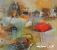 Malerei Elena Gatti - Galerie Halbach