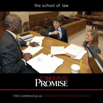 the school of law - University of South Carolina